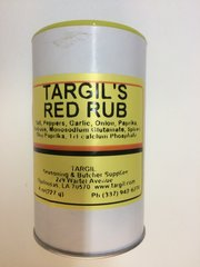 Targil's Red Rub - 8 oz.