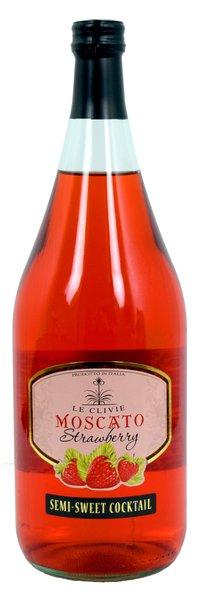 Le Clivie Strawberry Moscato 1.5L (1 case)