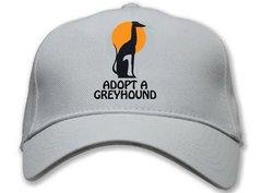 """""""Adopt a Greyhound"""" Cap"""