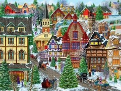WINTER VILLAGE SQUARE