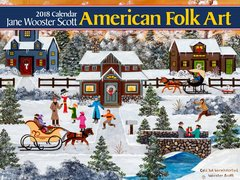 2018 JANE WOOSTER SCOTT WALL CALENDAR