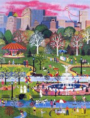 SPRINGTIME IN CENTRAL PARK - REMARQUE