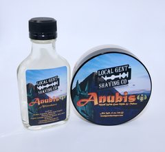 Anubis Shaving Soap & Aftershave Splash - Bundle!