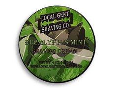 Local Gent Shaving Co. Eucalyptus Mint Shaving Cream