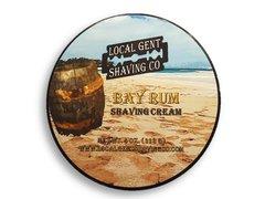 Local Gent Shaving Co. Bay Rum Shaving Cream