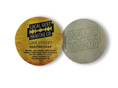 Local Gent Shaving Co. Lime Street Shaving Soap Puck