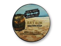 Local Gent Shaving Co. Bay Rum 4 oz. Shaving Soap