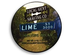 Local Gent Shaving Co. Lime Street Shaving Cream