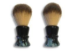 "Local Gent Shaving Co. Lugosi Shaving Brush ""Nightshade"""