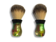 "Local Gent Shaving Co. Bombshell Shaving Brush "" Atomic Apple"""