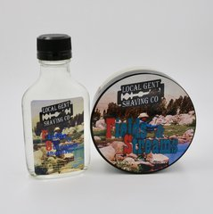 Fields & Streams Shaving Soap & Aftershave Splash - Bundle!