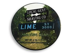 Local Gent Shaving Co. Lime Street 4 oz. Shaving Soap