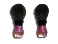 "Local Gent Shaving Co. Bombshell Shaving Brush ""Pink Nebula"""