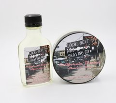California Barber Shaving Soap & Aftershave Splash - Bundle!