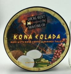 "Local Gent Shaving Co. Kona Colada Shaving Soap ""Limited Summer Release"""