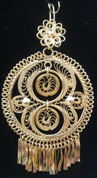 Large earrings- Round/ Model 8