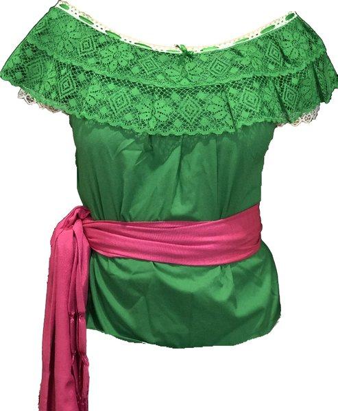 Ruffle Blouse/ Blusas de Olan- Color