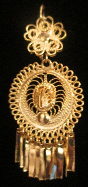 Small earrings- Round/ Sombrero