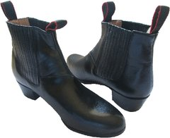 Men's Dance Folkloric Shoes Black & White
