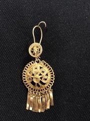 Mini earrings - Round/Peacock