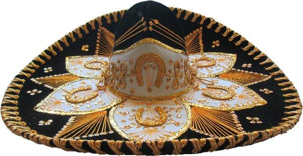 Charro Hat (Flower)