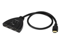 HDMI® Switch 3X1 Pigtail