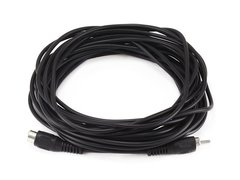 Audio - 25ft RCA PlugJack MF Cable - Black