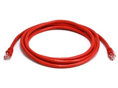 Cable - Cat5e 24AWG UTP Ethernet Network Patch Cable, 7ft Red
