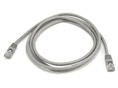 Cable - Cat5e 24AWG UTP Ethernet Network Patch Cable, 5ft Gray