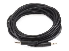Audio - 25ft 3.5mm Stereo PlugPlug MM Cable - Black