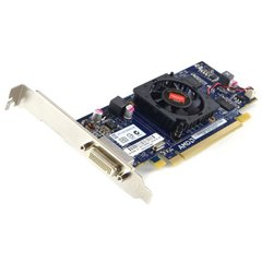 Video Card - ATI Radeon AMD HD 6350 512MB PCIE x16 DMS-59 Video Card with VGA Cable Splitter