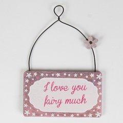Assorted Mini Fairy Plaques