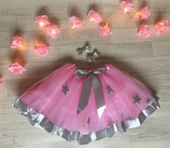 Pink Silver Star Tutu