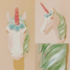 Mint Unicorn Head