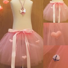 Sparkle Heart Pink Tutu