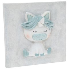 Pretty Pastel Unicorn Plaque