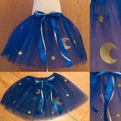 Starry Night Navy Tutu