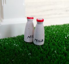 2 Fairy Milk Bottles