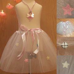 Sparkle Star White Tutu