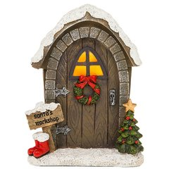 Elves Workshop Fairy Door