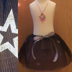 Silver Star Black Tutu