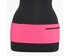 Left Coast Pink with Black Zipper