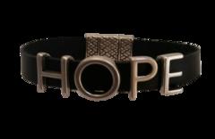 Hope all leather Bracelet