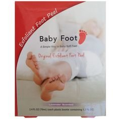 Baby Foot all-natural Exfoliant Foot Peel