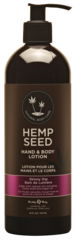 Skinny Dip Hemp Seed Hand and Body Lotion 16oz pump