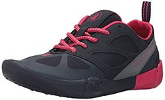Body Glove Wms Swoop Beach Runner water shoe Black and Pink sz5