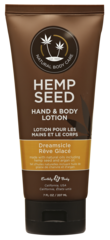 Dreamsicle Hemp Seed Hand and Body Lotion 7 oz.