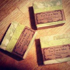 Tea Tree & Mint Soap