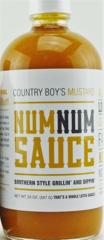 Num Num Sauce-Mustard-20oz