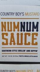 Num Num Sauce-Mustard-133 oz (gallon)